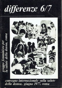 differenze 6/7 Gruppo salute donna herstory  femminismo gruppi Roma Lazio