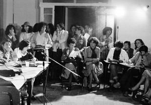 conferenza stampa legge violenza sessuale casa donna governo vecchio herstory  storia femminismo gruppi Roma