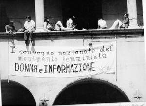 convegno nazionale casa donna governo vecchio herstory  storia femminismo gruppi Roma