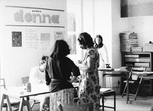 redazione quotidiano donna governo vecchio herstory  storia femminismo gruppi Roma