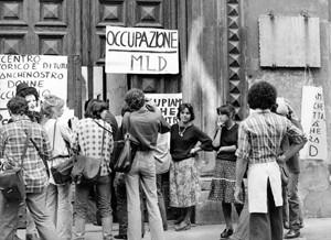 casa della donna occupazione governo vecchio herstory  storia femminismo gruppi Roma