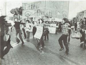 manifestazione voto aborto collettivo femminista centocelle herstory  luoghi donne storia gruppi Roma