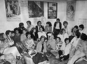 Movimento femminista romano Pompeo Magno herstory  luoghi donne gruppi lesbiche Roma archivia