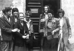 centro dulturale virginia woolf casa donna governo vecchio herstory  storia femminismo gruppi Roma