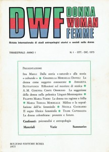 rivista herstory  femministe  luoghi donne storia collettivi manifestazioni gruppi Roma