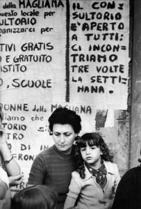 consultorio  collettivo femminista magliana herstory  luoghi donne storia gruppi Roma