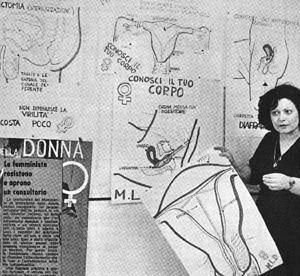 gruppo self-help Collettivo casa donna governo vecchio herstory  storia femminismo Roma