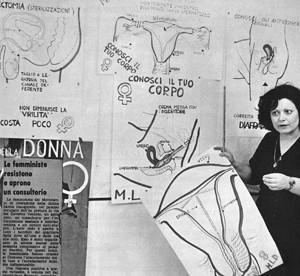 consultorio casa della donna occupazione governo vecchio herstory  storia femminismo gruppi Roma