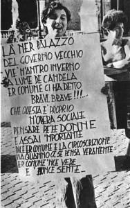 manifestazione campidoglio casa della donna occupazione governo vecchio herstory  storia femminismo gruppi Roma