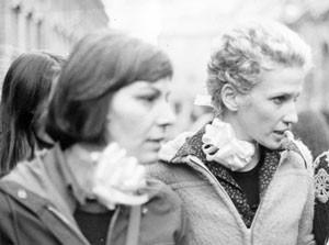 manifestazione aborto pompeo magno femminismo herstory  luoghi donne gruppi lesbiche Roma archivia