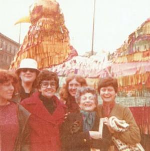 manifestazione gallina movimento romano pompeo magno femminismo herstory  luoghi donne gruppi lesbiche Roma archivia