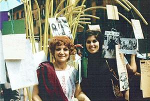 mostra  Pompeo Magno herstory  luoghi donne gruppi lesbiche femminismo Roma archivia