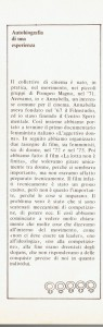 Collettivo femminista cinema autobiografia almanacco herstory  luoghi donne storia gruppi Roma