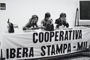 Cooperativa Libera Stampa herstory  femminismo luoghi donne storia gruppi Roma