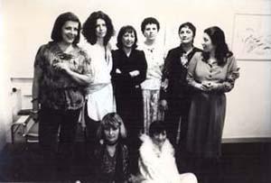 Cooperativa Beato Angelico arte  galleria inaugurazione herstory  femminismo luoghi donne storia gruppi Roma