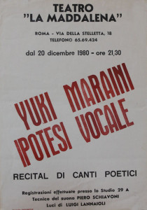 spettacolo teatro la Maddalena herstory  femminismo luoghi donne storia gruppi Roma