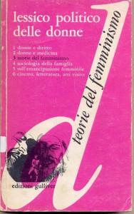 Edizioni delle donne casa editrice lessico teorie femminismo  herstory  lesbiche storia gruppi Roma
