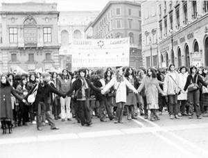 Collettivo casalinghe casa donna governo vecchio herstory  storia femminismo Roma