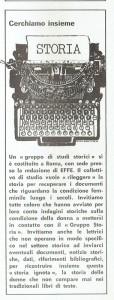 Gruppo Storia costituzione articolo effe herstory  femminismo luoghi donne storia gruppi Roma