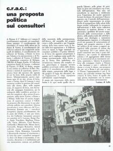proposta crac consultori Collettivi di quartiere herstory  femminismo luoghi donne storia gruppi Roma