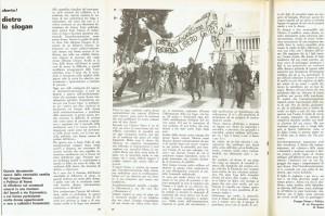 Collettivo Donne e politica articolo autodeterminazione effe herstory  femminismo luoghi storia gruppi Roma