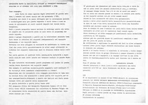 spolato  movimento femminismo romano  herstory  luoghi donne gruppi lesbiche Roma archivia