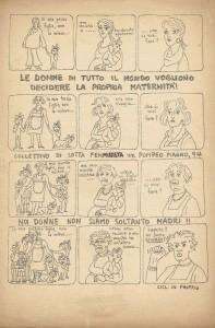 volantino  Pompeo Magno herstory  luoghi donne gruppi lesbiche femminismo Roma archivia
