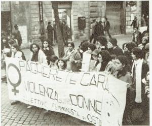 Collettivo Ostia manifestazione herstory  femminismo donne storia collettivi manifestazioni gruppi mappa