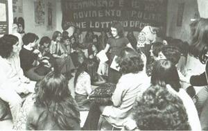 Centro donne sede herstory  femminismo storia collettivi manifestazioni gruppi mappa