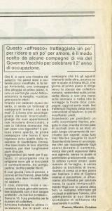 quotidiano donna occupazione governo vecchio herstory  storia femminismo gruppi Roma
