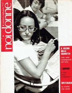 copertina noidonne herstory archivia femminismo luoghi  storia gruppi Roma donna