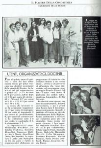 trasferimento sede noidonne Centro Virginia Woolf Università delle donne herstory  femminismo luoghi storia gruppi Roma