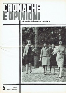 CIF Centro Italiano Femminile rivista herstory  femminismo luoghi donne storia gruppi Roma