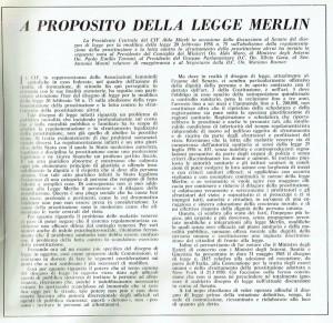 CIF articolo merlin herstory  femminismo luoghi donne storia gruppi Roma
