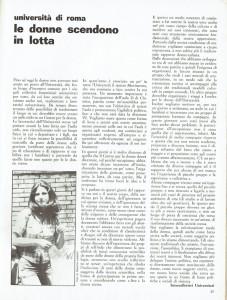 intercollettivi universitari effe herstory  femminismo luoghi donne storia gruppi Roma