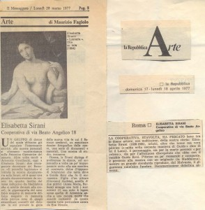 recensione arte  mostra herstory  femminismo luoghi donne storia gruppi Roma