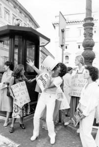 manifestazione montecitorio casa donna governo vecchio herstory  storia femminismo gruppi Roma