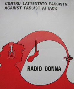Radio donna volantino herstory  femminismo storia collettivi manifestazioni gruppi