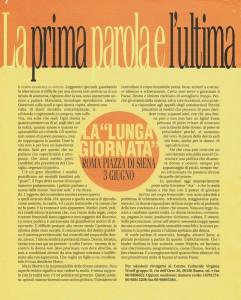 lunga giornata noidonne herstory archivia femminismo luoghi  storia gruppi Roma donna