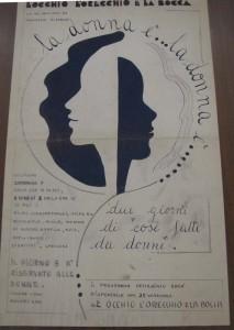 occhio orecchio bocca locale lesbiche herstory  femminismo luoghi donne storia gruppi Roma