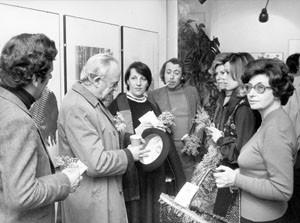 mostra pittura 8 marzo Unione donne italiane herstory  femminismo storia gruppi Roma archivia
