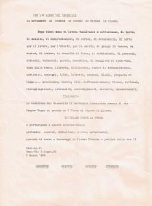 volantino decennale  pompeo magno femminismo herstory  luoghi donne gruppi lesbiche Roma archivia