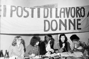 Movimento Liberazione della Donna archivia herstory  femminismo Roma