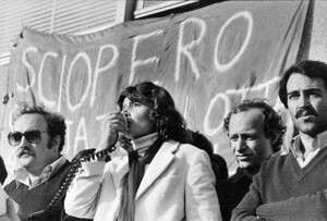 sciopero hostess Collettivo alitalia casa donna governo vecchio herstory  storia femminismo gruppi Roma