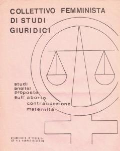 collettivo  studi giuridici volantino Pompeo Magno herstory  luoghi donne gruppi lesbiche femminismo Roma archivia