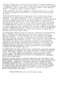 volantino presentazione Gruppo femminista salute donna herstory  gruppi Roma Lazio