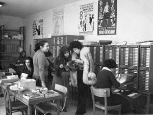 ufficio abbonamenti noidonne herstory archivia femminismo luoghi  storia gruppi Roma donna
