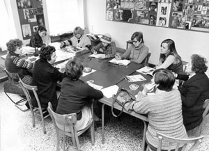 redazione noidonne herstory archivia femminismo luoghi  storia gruppi Roma donna