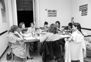 tavola rotonda noidonne herstory archivia femminismo luoghi  storia gruppi Roma donna