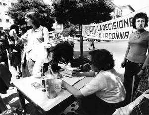 manifestazioni delle donne aborto Archivia. Herstory femminismo a roma e Lazio